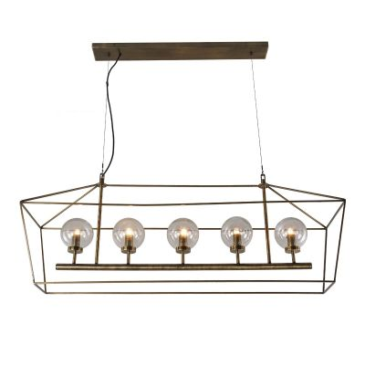 Boho 5-Light Chandelier