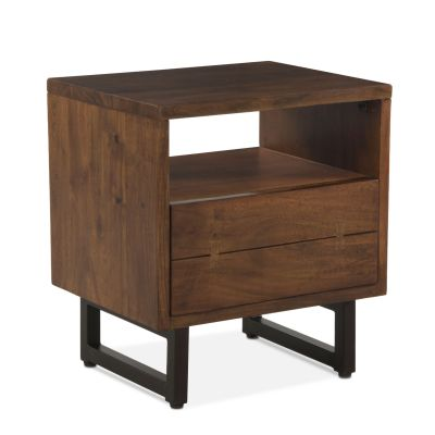 "Aspen Night Chest 24"" Walnut"