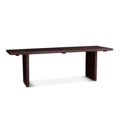 "Barnwood 94"" Dining Table Jacobean Brown"