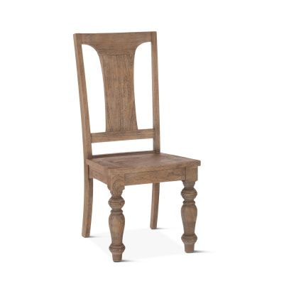 Colonial Plantation Dining Chair Weathered Teak