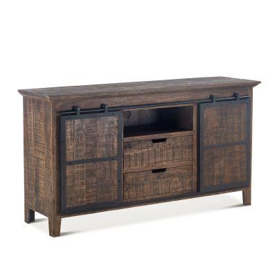 """Carnegie Plasma Cabinet 66"""" Bandsaw Teak"""