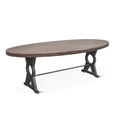 "French Market 94"" Oval Dining Table"