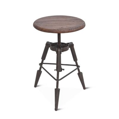 "French Market 15"" Adjustable Rocket Stool"