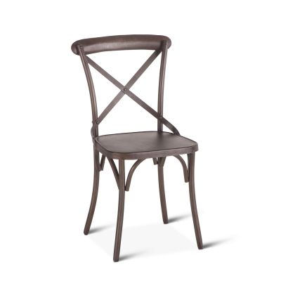 "Hobbs Dining Chair 16"" Weathered Gray"