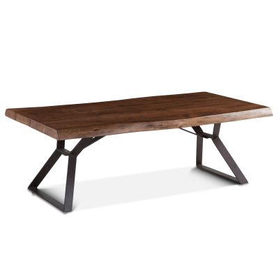 "London Loft Coffee Table 54"" Walnut"