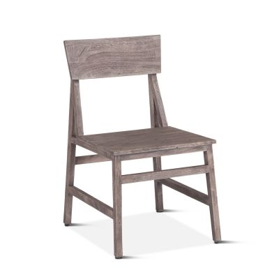 "London Loft Dining Chair 19"" Weathered Gray"