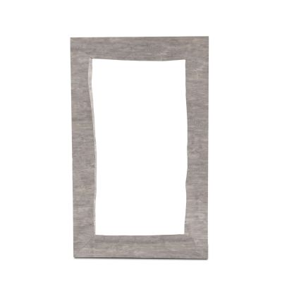 "London Loft Mirror 62"" Weathered Gray"