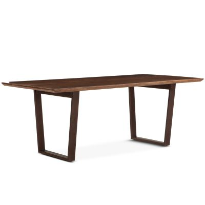 "Mozambique Dining Table 78"" Walnut"