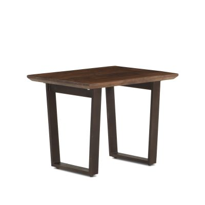 "Mozambique 28"" Side Table Walnut"