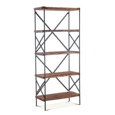 "Organic Forge Bookshelf 34"" Raw Walnut"