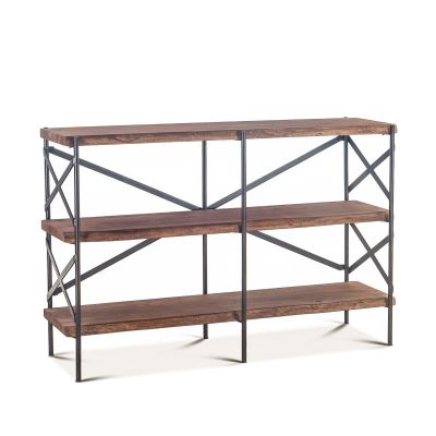 "Organic Forge Bookshelf 56"" Raw Walnut"