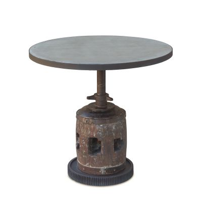 "Old Mill 30"" Adjustable Round Table"