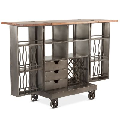 Pittsburg Iron Bar Cabinet