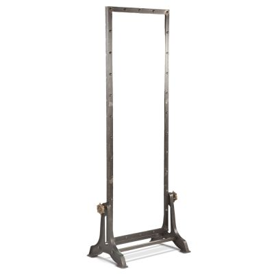 Pittsburg Iron Floor Mirror