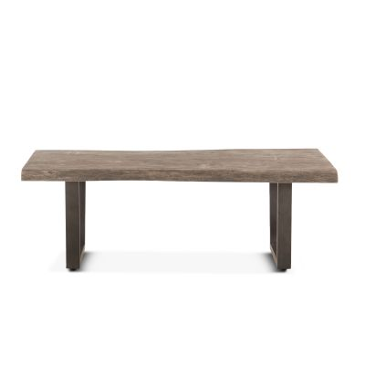 "Steamboat 52"" Coffee Table Weathered Gray"