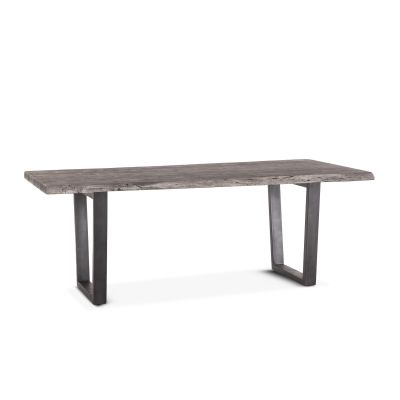 "Steamboat Dining Table 80"" Weathered Gray"