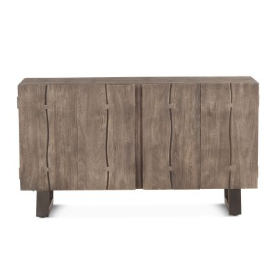"Steamboat 60"" Sideboard Weathered Gray"