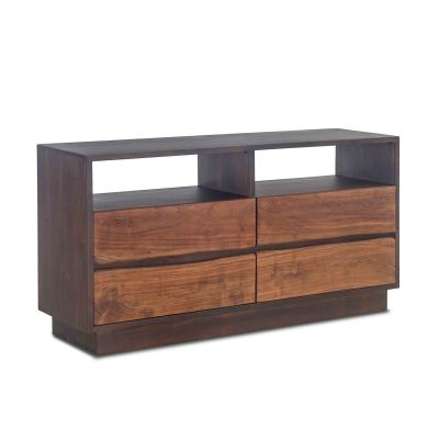 "San Marino Dresser 64"" Raw Walnut Ebony"