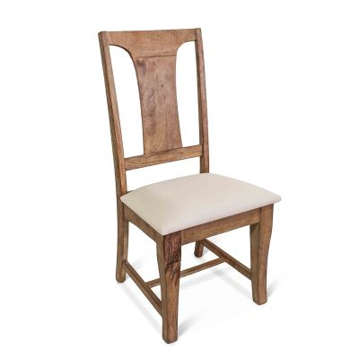 San Rafael Dining Chair with Upholstered Seat