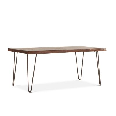 "Vail 68"" Dining Table Walnut"
