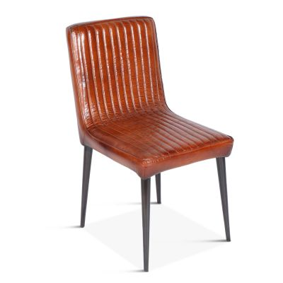 Riviera Dining Chair Vintage Leather