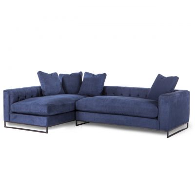 Davis 2-piece Sectional Navy
