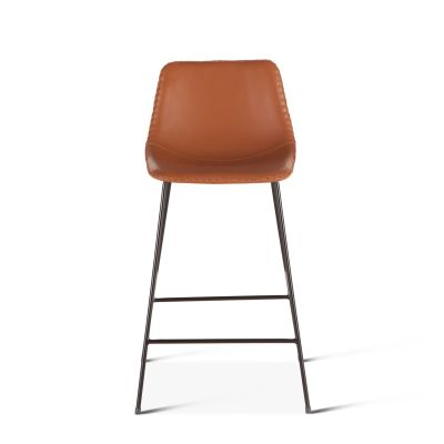 Curtis Eco-Leather Counter Chair Tan