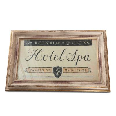 Peinture Hotel Spa Art Photo