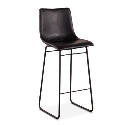 Ben Black Bar Chair