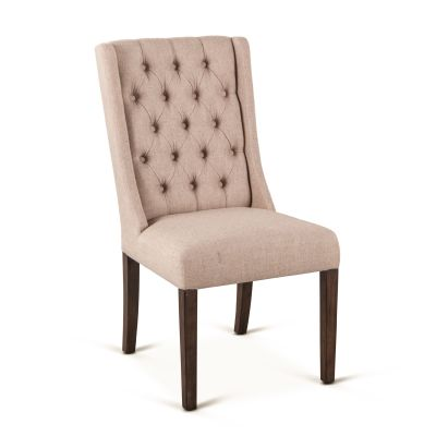 Lara Dining Chair, Weathered Teak Leg