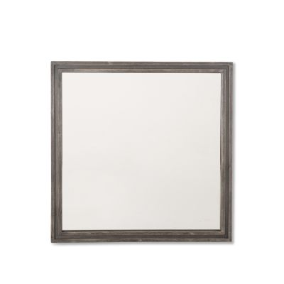 Driftwood Square Mirror Weathered Graywash