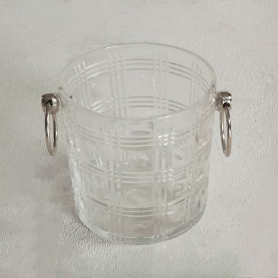 Buenos Aires Glass Ice Bucket