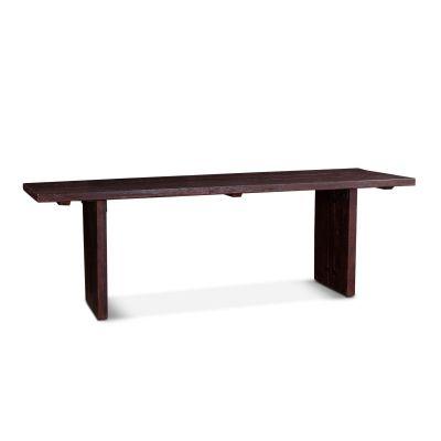 "Barnwood 94"" Dining Table Java Brown"