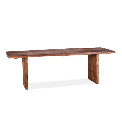 """Barnwood 94"""" Dining Table Natural"""