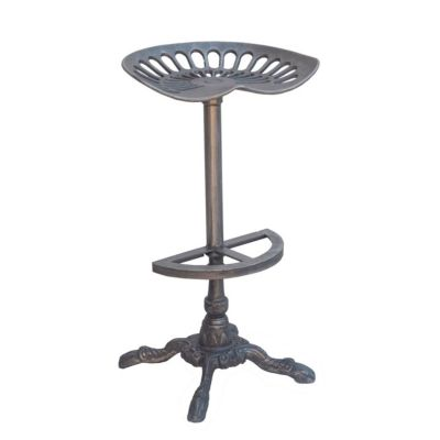 French Market Metal Bar Stool