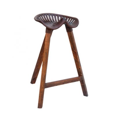 French Market Tractor Bar Stool