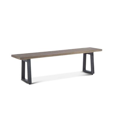 "Laguna Beach 64"" Bench Weathered Teak"