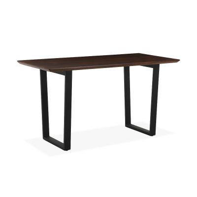 "Mozambique 66"" Gathering Table Walnut"