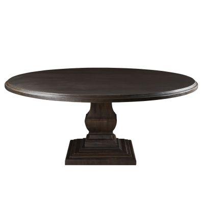 """Nimes 60"""" Round Dining Table Vintage Java"""