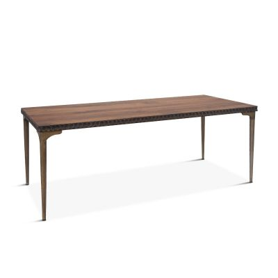 "Santa Cruz Dining Table 78"" Two-Toned"
