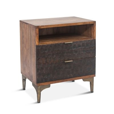 "Santa Cruz Night Stand 24"" Two-Toned"