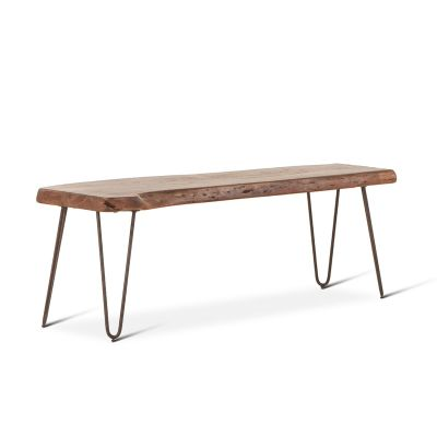 "Vail 54"" Bench Walnut"