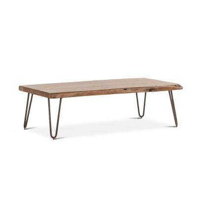"Vail 54"" Coffee Table Walnut"