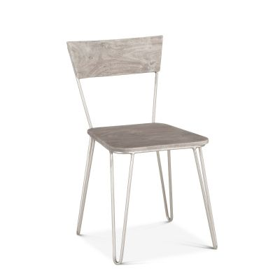 Vail Dining Chair Weathered Gray