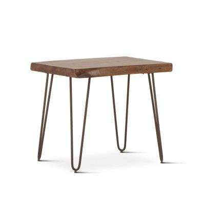 "Vail 26"" Side Table Walnut"