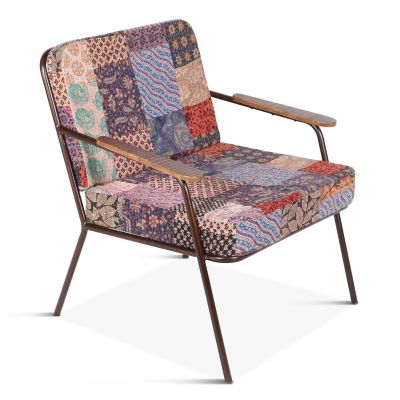 Wellington Armchair Vintage Patchwork