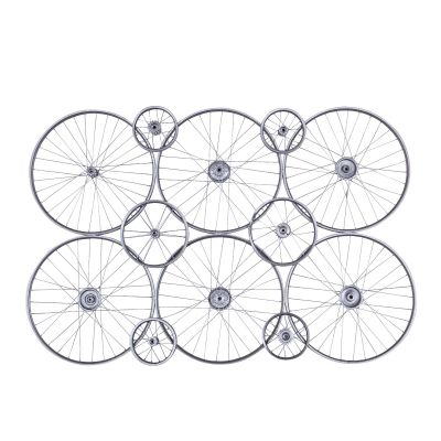 Peloton Gray 6 Wheel Wall Panel
