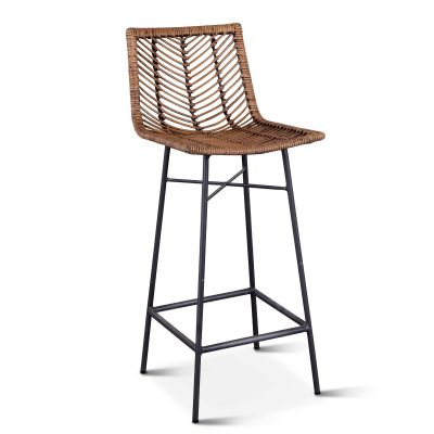 Kubu Bar Chair Jawit Honey Brown