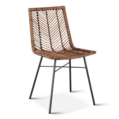 Kubu Dining Chair Jawit Honey Brown
