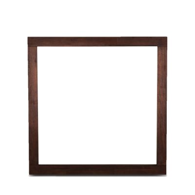 "Urban Loft 39"" Mirror Dark Brown"